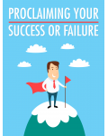 Proclaiming Your Success Or Failure Ebook's Ebook Image