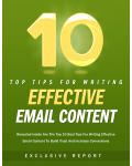 10 Tips For Writing Effective Email Content Ebook's Ebook Image