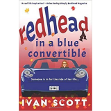 Redhead in a Blue Convertible's Book Image