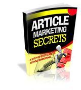 Article Marketing Secrets's Book Image