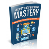 Shopify Dropshipping Mastery's Book Image