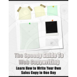The Speedy Guide to Web Copywriting - Learn How to Write Your Own Sales Copy in One Day's Book Image