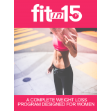 Fit In 15 (A Complete Weight Loss Program Designed For Women) Ebook's Ebook Image