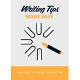 Writing Tips Made Easy (Your Guide To The Best Writing Tips) Ebook's Ebook Image