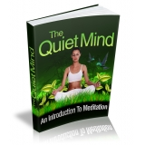 The Quite Mind (A Introduction To Meditation) Ebook's Ebook Image