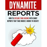 Dynamite Reports (How To Explode Your Income With Short Reports That Takes Under 2 Hours To Create!) Ebook's Ebook Image
