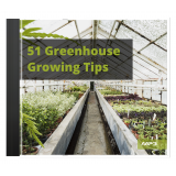 51 Tips For Greenhouse Gardening's Book Image