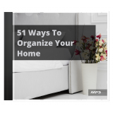 51 Ways to Organize Your Home's Ebook Image