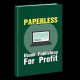 Your Paperless E-Book Publishing Blueprint's Book Image