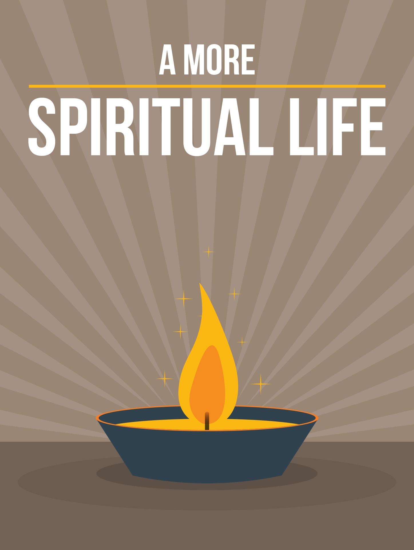 A More Spiritual Life Ebook's Ebook Image