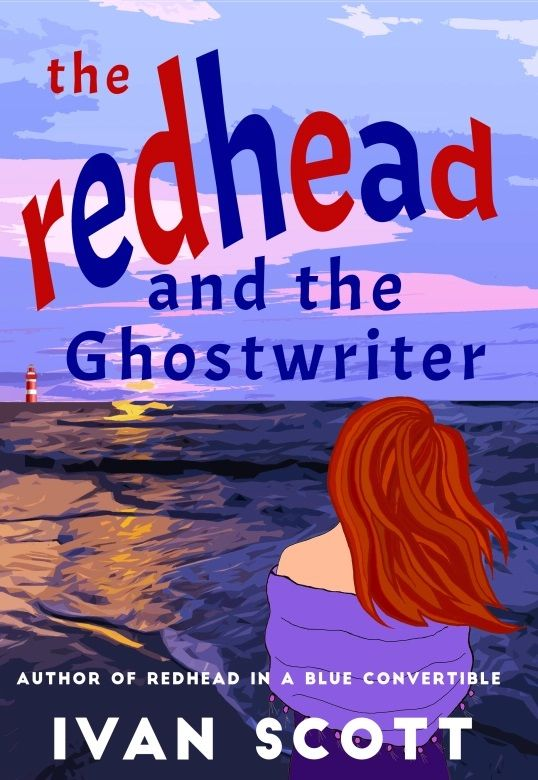 The Redhead and the Ghostwriter's Book Image