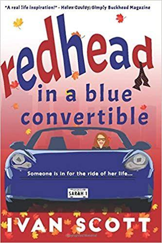 Redhead in a Blue Convertible's Ebook Image