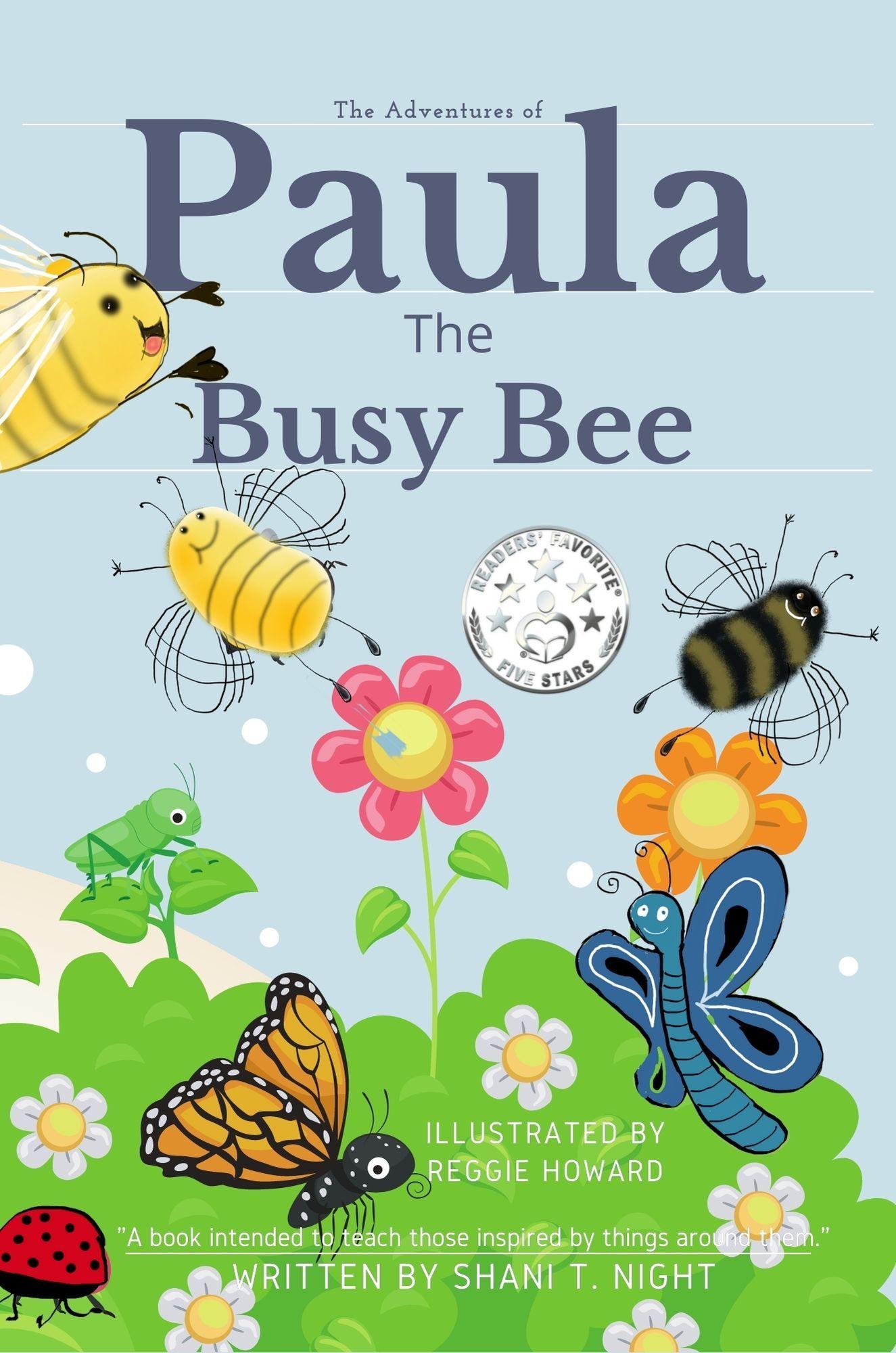 Paula The Busy Bee's Book Image