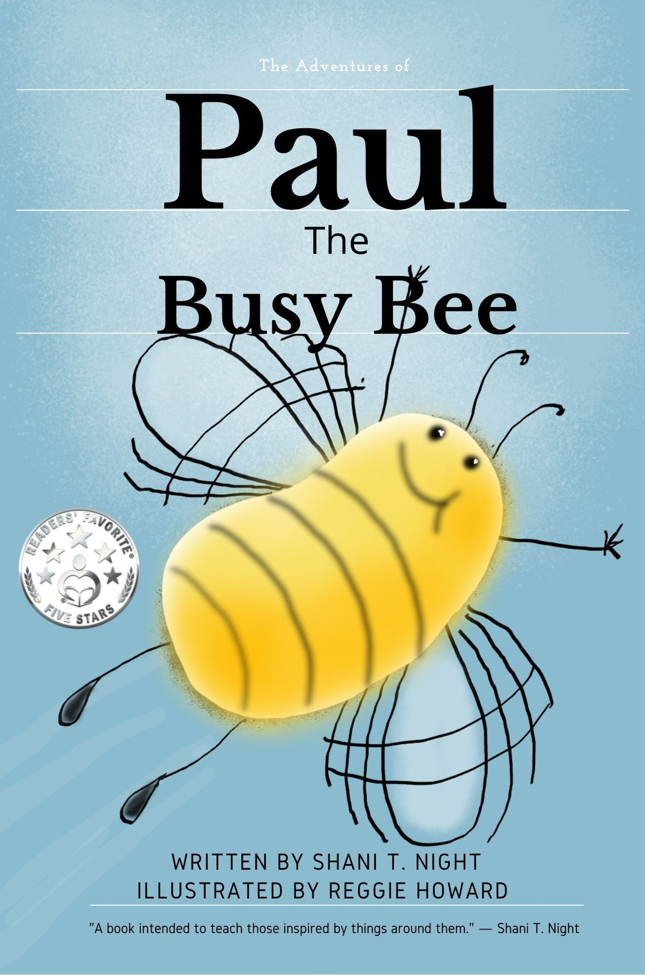 Paul The Busy Bee's Book Image