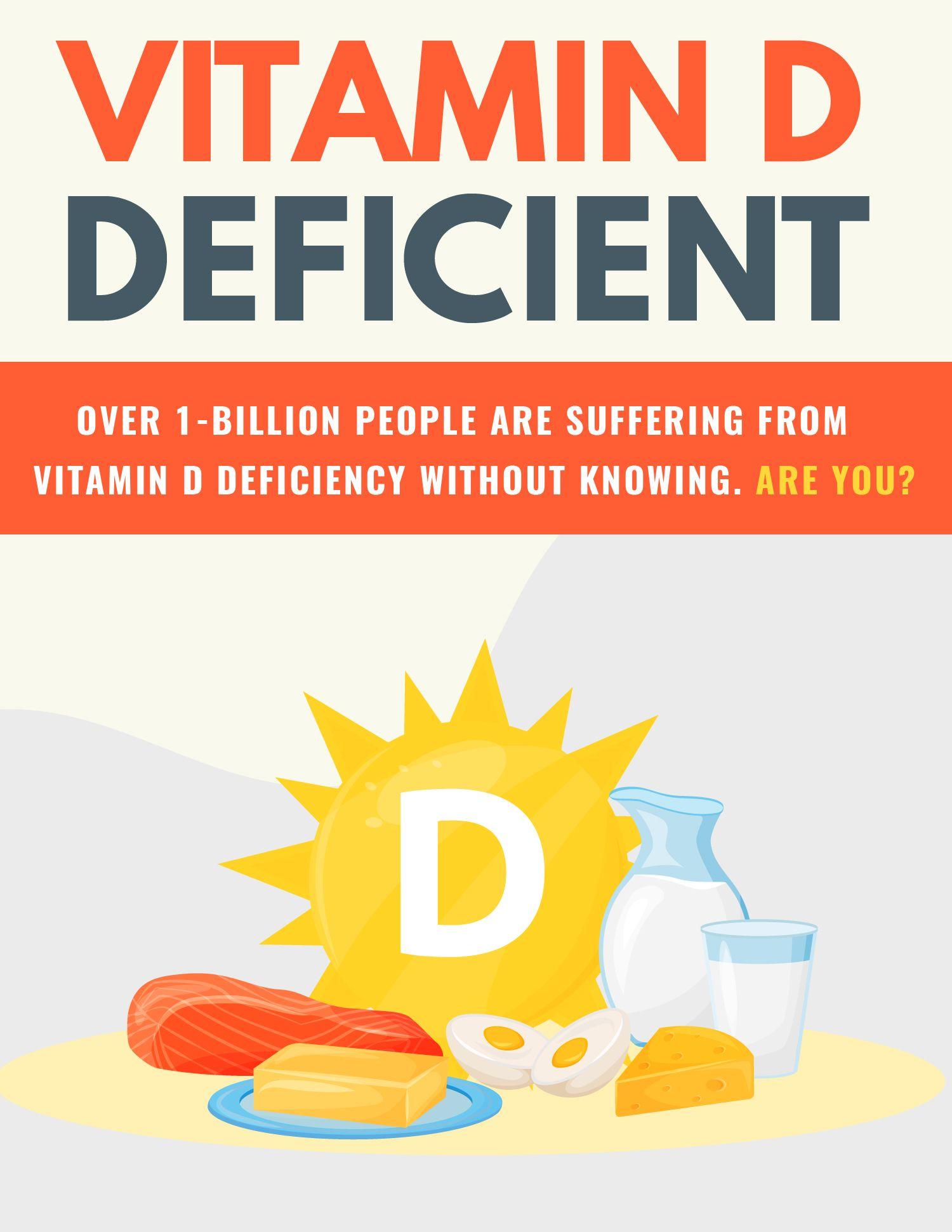 Vitamin D Deficient eBook's Book Image