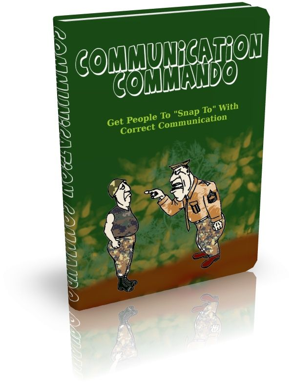 Communication Commando's Book Image
