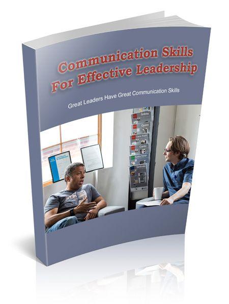 Communication Skills for Effective Leadership's Book Image