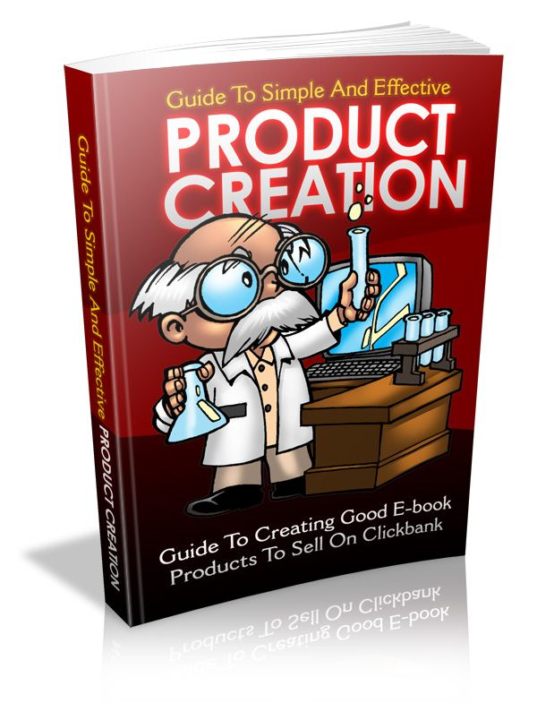 The Guide to Simple and Effective Product Creation's Book Image