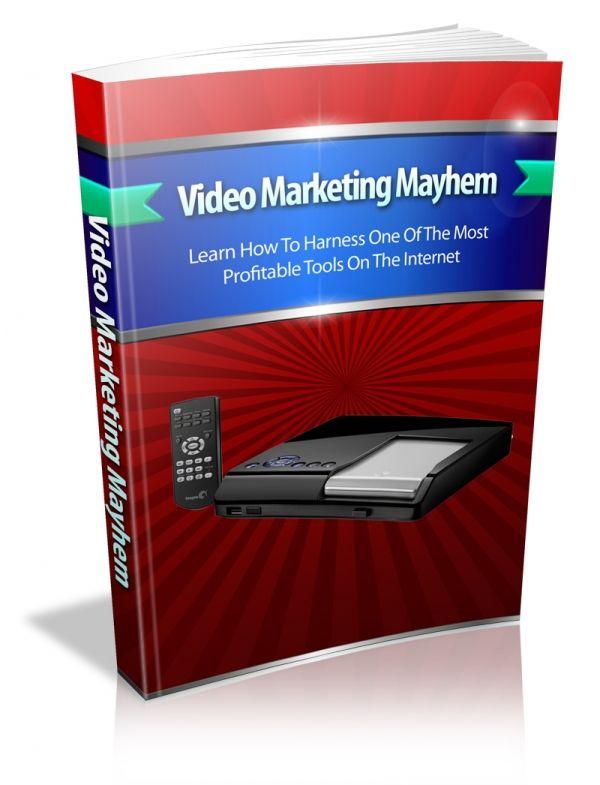 Video Marketing Mayhem's Book Image