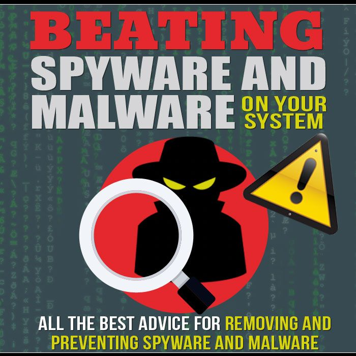 Beating Spyware and Malware on Your System's Book Image