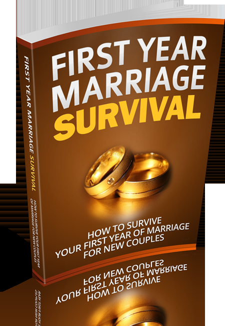 First Year Marriage Survival's Book Image