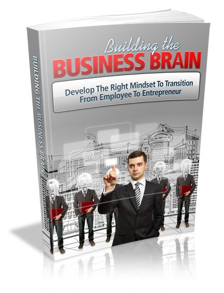 Building The Business Brain - Develop The Right Mindset To Transition From Employee To Entrepreneur's Book Image