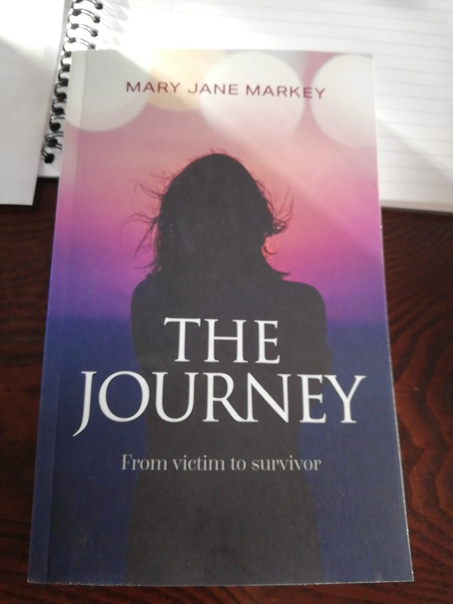 The Journey:From victim to survivor's Book Image
