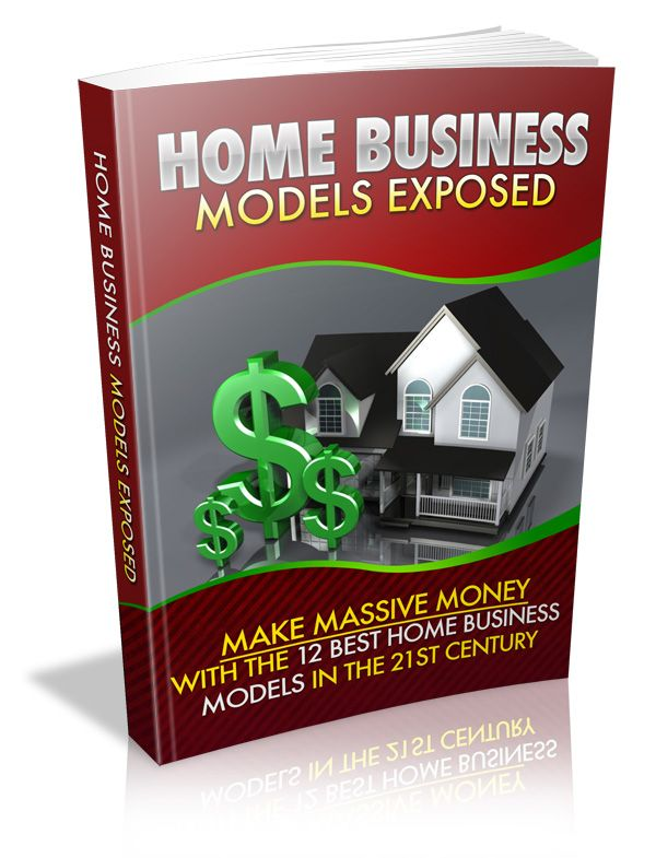 Home Business Models Exposed's Book Image