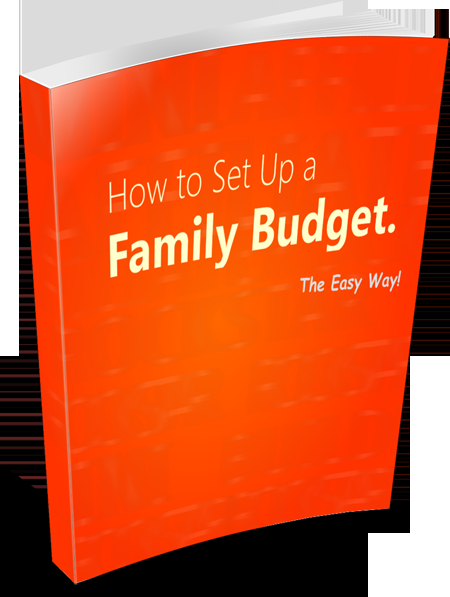 How to Set up a Family Budget's Book Image