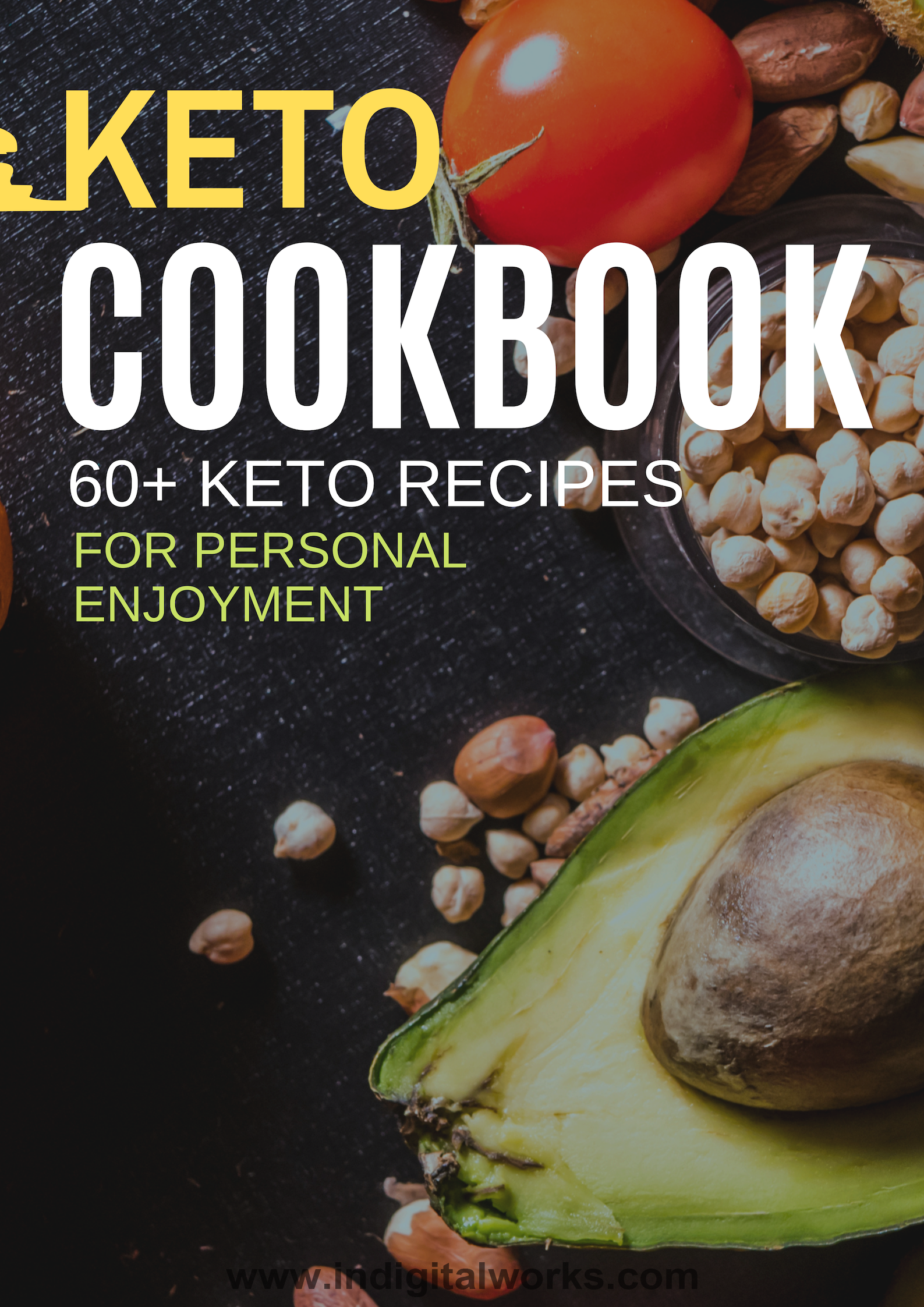 Keto Diet Cookbook (60+ Keto Recipes For Personal Enjoyment) Ebook's Ebook Image