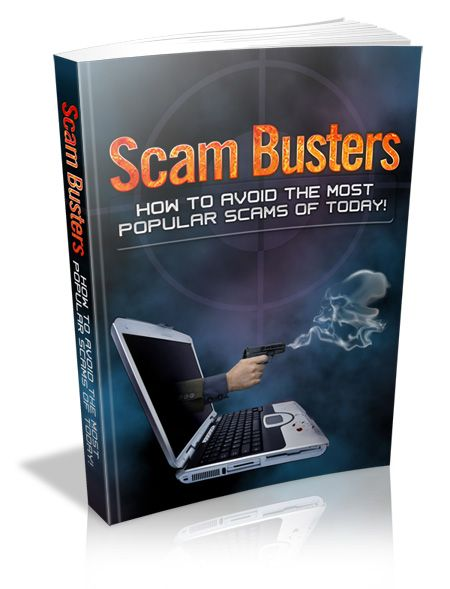 Scam Busters - How to avoid the most popular scams of today!'s Book Image