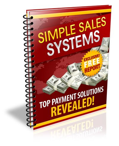 Simple Sales Systems's Book Image