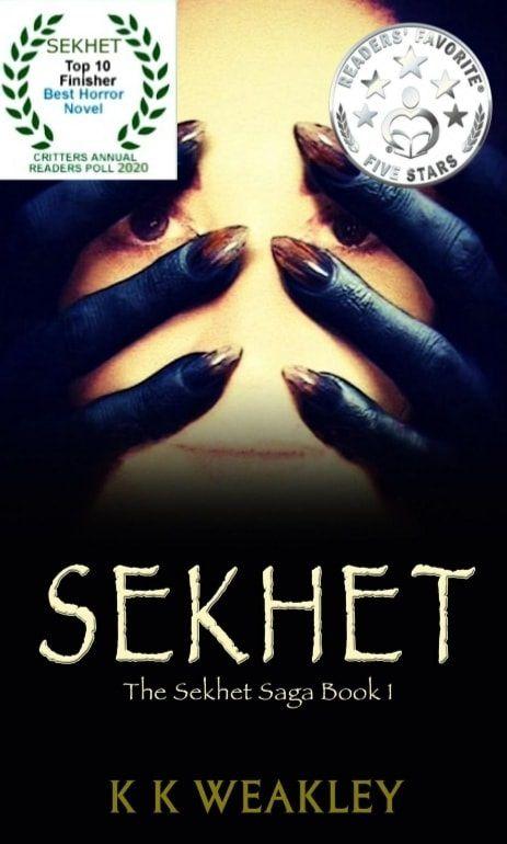 SEKHET SAGA BOOK 1's Book Image