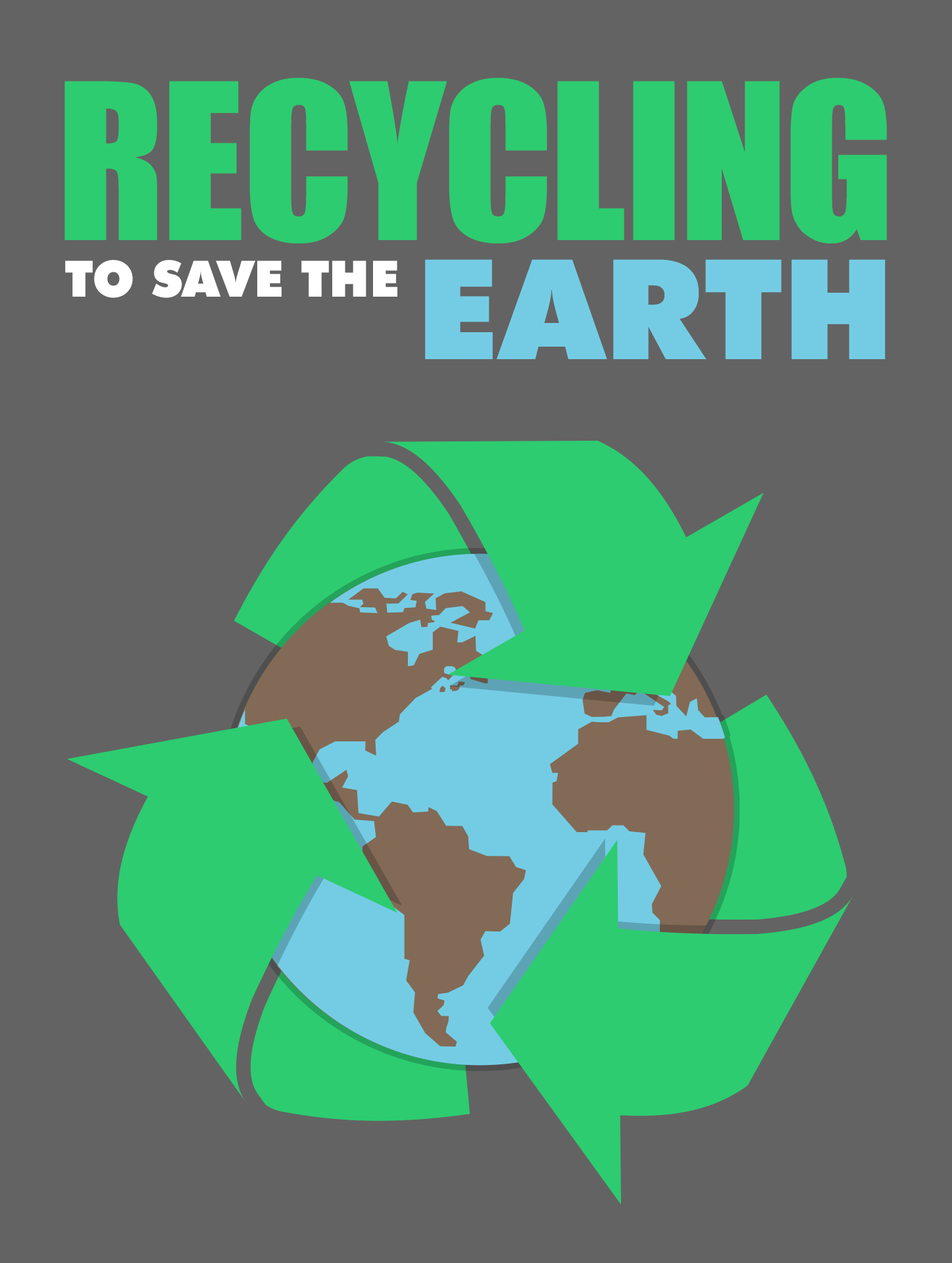 Recycling To Save The Earth Ebook's Ebook Image