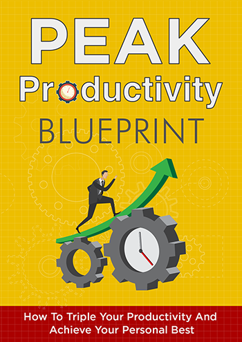 Peak Productivity Blueprint (How To Triple Your Productivity And Achieve Your Personal Best) Ebook's Ebook Image