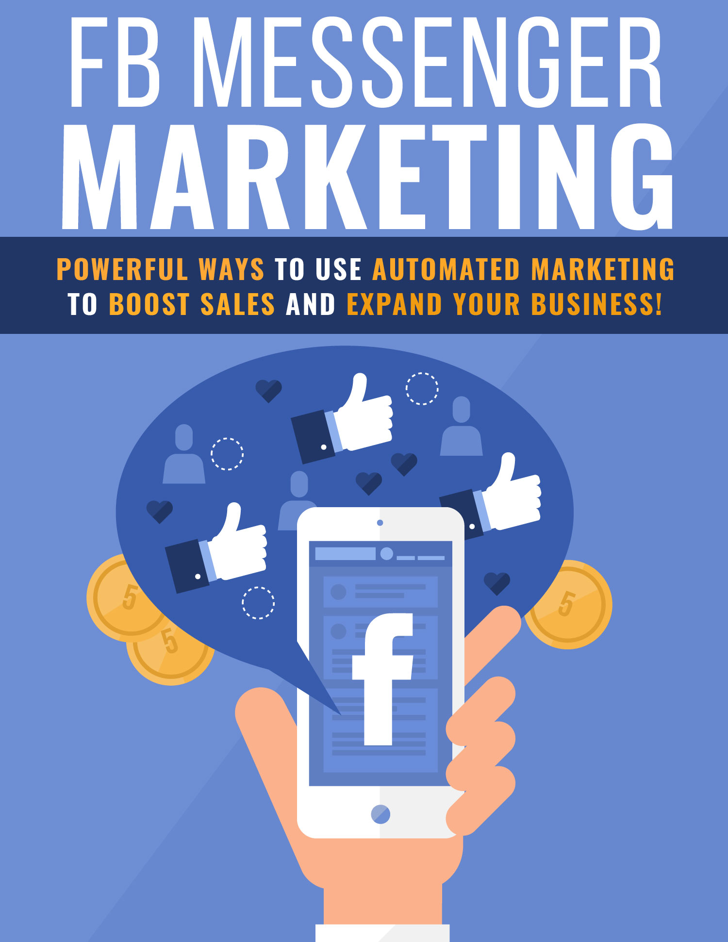 Facebook Messenger Marketing Ebook's Ebook Image