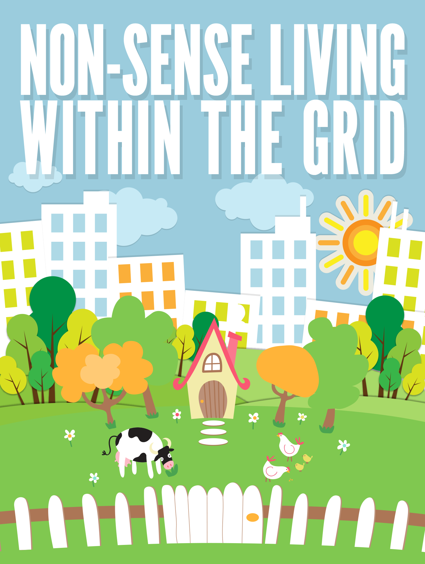 Non-Sense Living Within The Grid Ebook's Ebook Image