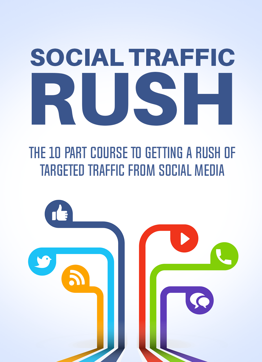 Social Traffic Rush (The 10 Part Course To Getting A Rush Of Targeted Traffic From Social Media) Ebook's Ebook Image