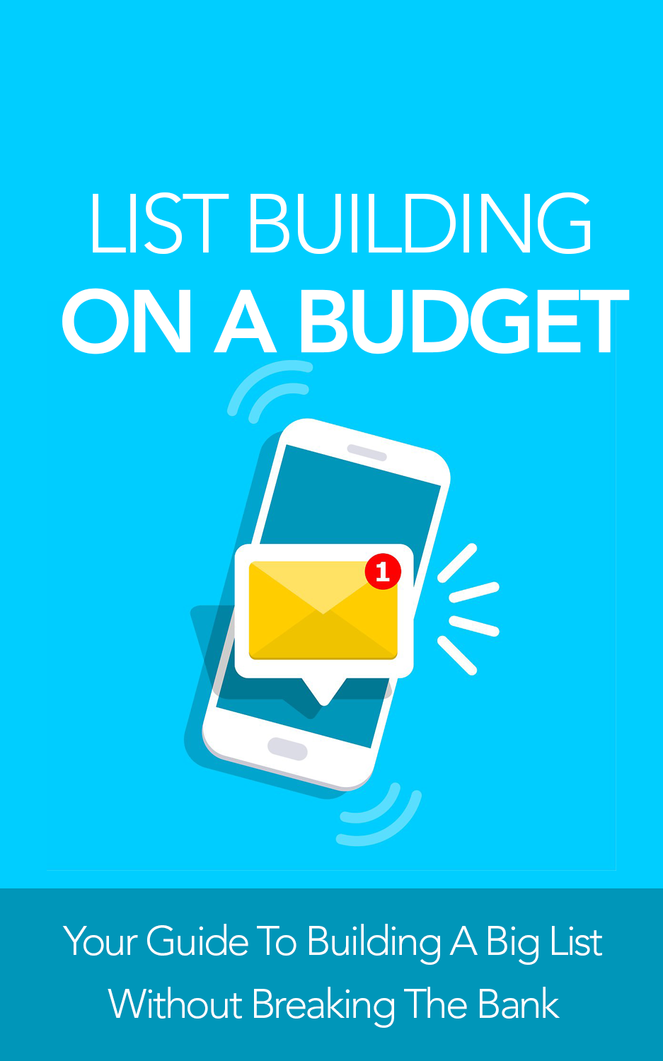 List Building On A Budget (Your Guide To Building A Big List Without Breaking The Bank) Ebook's Ebook Image