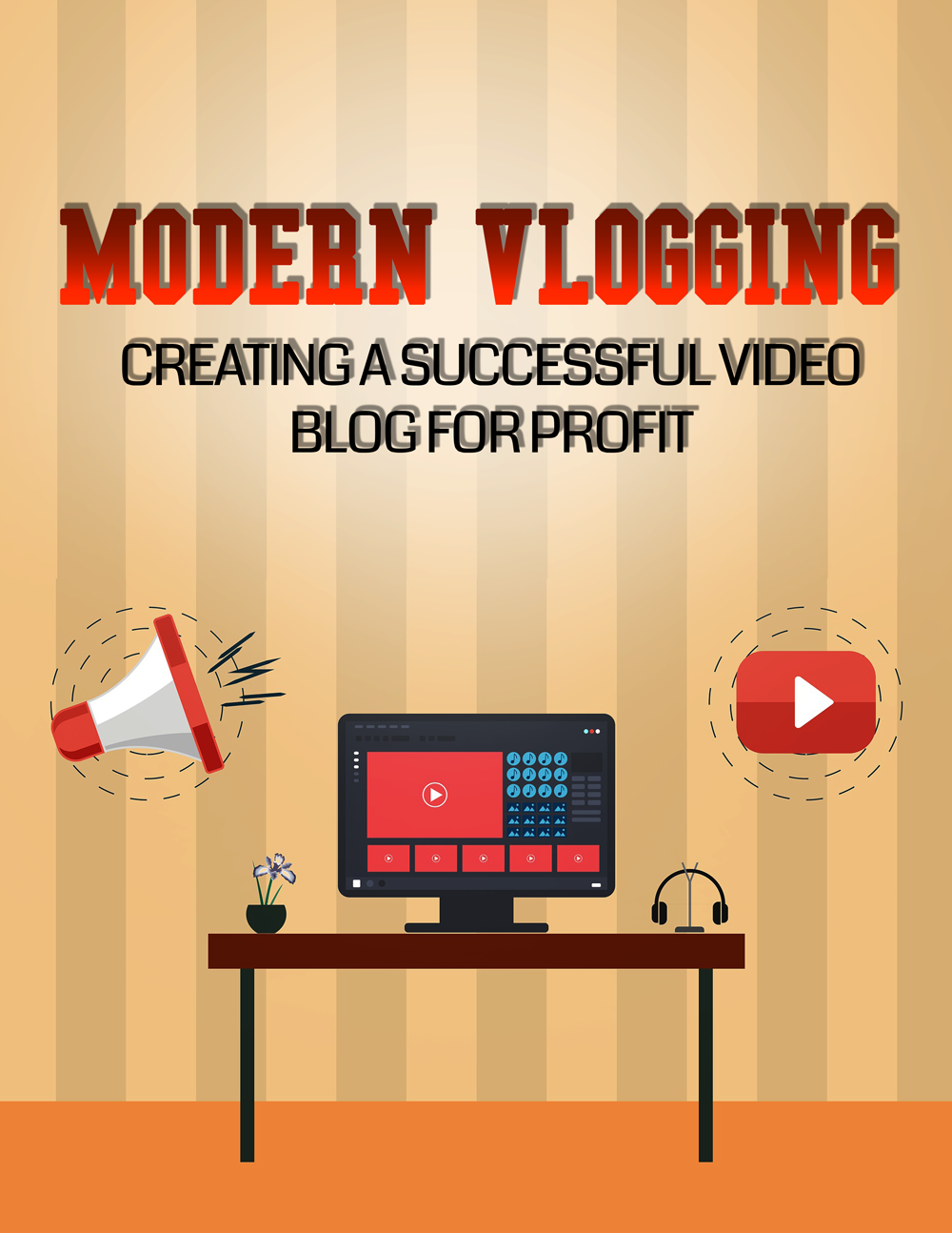 Modern Vlogging (Creating A Successful Video Blog For Profit) Ebook's Ebook Image
