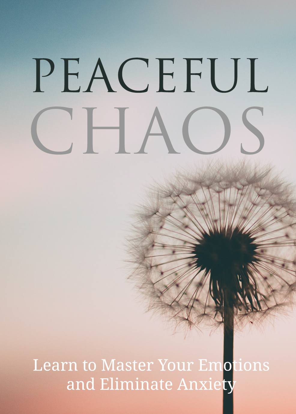Peaceful Chaos (Learn To Master Your Emotions And Eliminate Anxiety) Ebook's Ebook Image