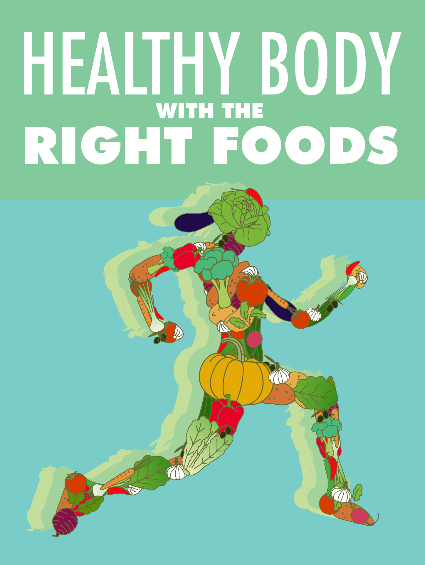 Healthy Body With The Right Foods Ebook's Ebook Image