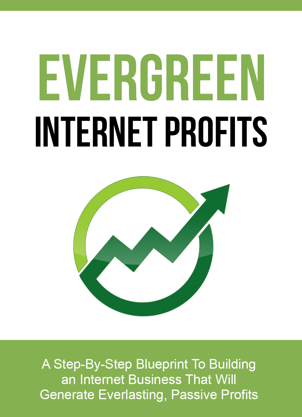 Evergreen Internet Profits (A Step-By-Step Blueprint To Building An Internet Business That Will Generate Everlasting, Passive Profits) Ebook's Ebook Image