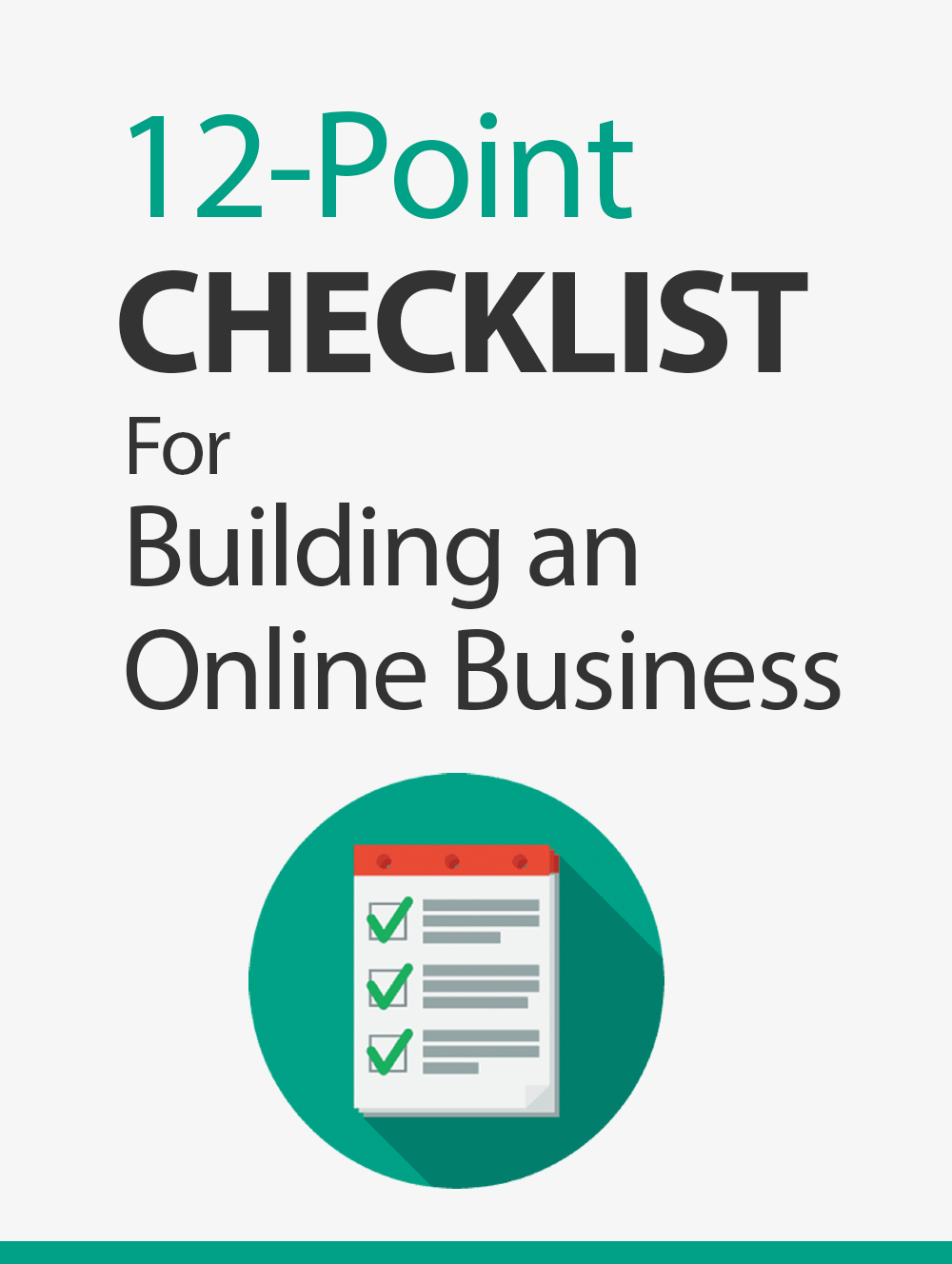 12-Point Checklist For Building An Online Business Ebook's Ebook Image