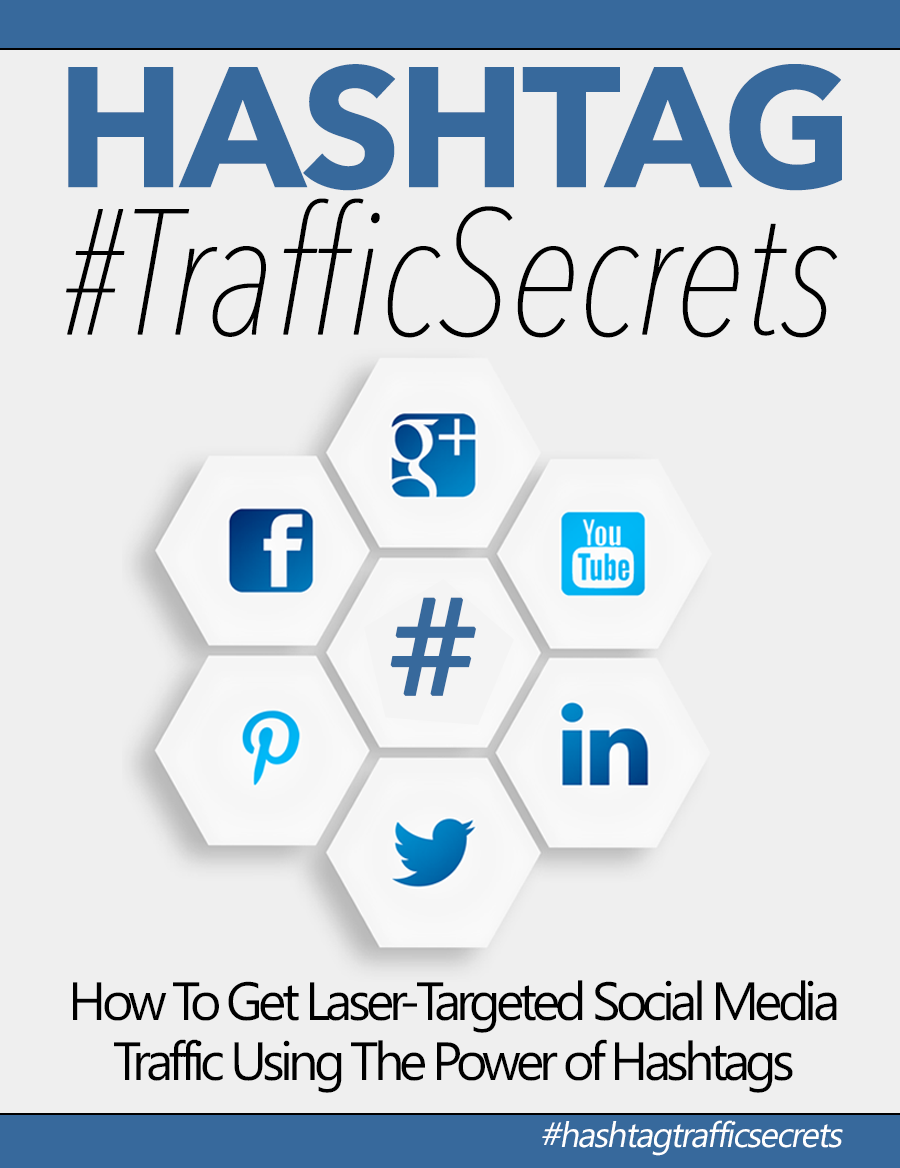 Hashtag #TrafficSecrets (How To Get Laser-Targeted Social Media Traffic Using The Power Of Hashtags) Ebook's Ebook Image