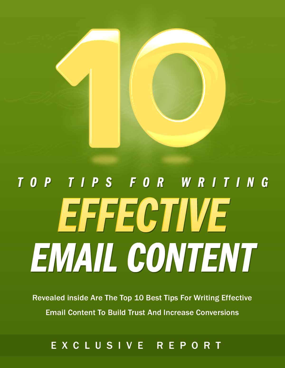 10 Tips For Writing Effective Email Content Ebook's Book Image