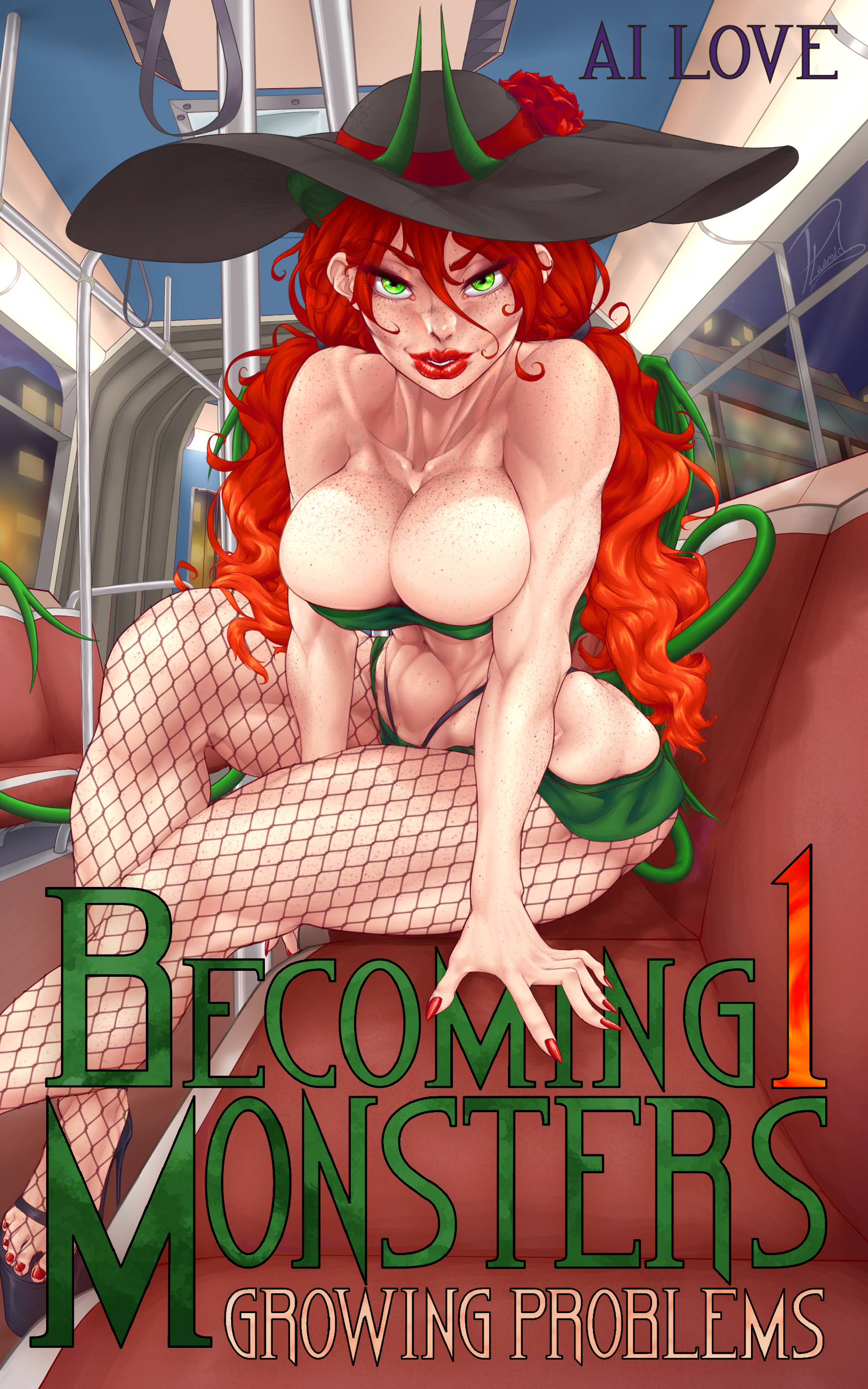 Becoming Monster Book 1: Growing Problems's Ebook Image