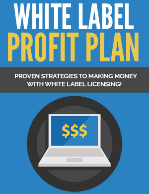 White Label Profit Plan (Proven Strategies To Making Money With White Label Licensing!) Ebook's Ebook Image