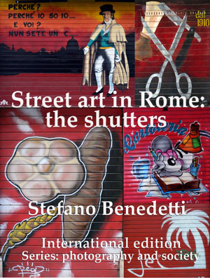 Street art in Rome: the shutters's Ebook Image