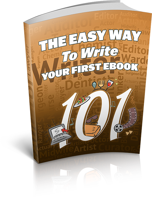 The Easy Way To Write Your Own Ebook's Ebook Image